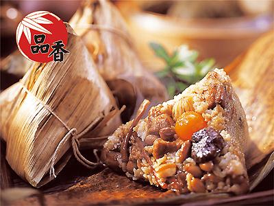 台南美食小吃‧品香肉粽菜粽