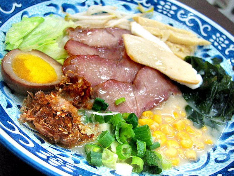 台南拉麵食材批發‧熊本式拉麵