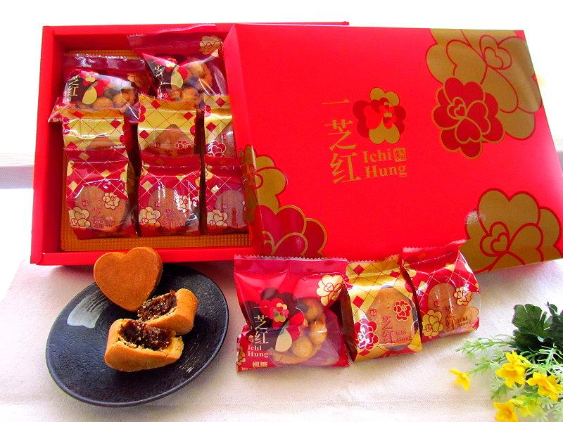 台南鳳梨酥夏威夷豆塔‧一芝紅